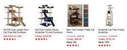 cat trees at overstock.com